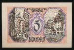 Нотгельды Австрии, 5 крон
