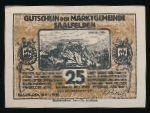 Нотгельды Австрии, 25 геллеров