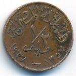 Египет, 1/2 милльема (1938 г.)