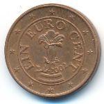 Австрия, 1 евроцент (2002 г.)