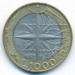 Сан-Марино, 1000 лир (1999 г.)
