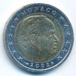 Монако, 2 евро (2002 г.)