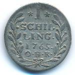 Гамбург, 1 шиллинг (1765 г.)