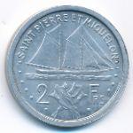 Сен-Пьер и Микелон, 2 франка (1948 г.)