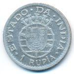 Португальская Индия, 1 рупия (1947 г.)