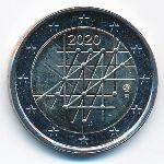 Финляндия, 2 евро (2020 г.)