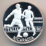 Никарагуа, 10000 кордоба (1990 г.)