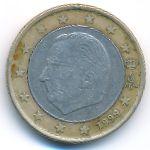 Бельгия, 1 евро (1999 г.)
