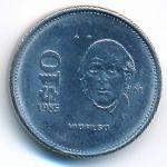 Мексика, 10 песо (1985–1989 г.)