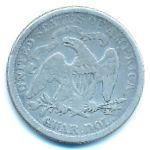 США, 1/4 доллара (1876 г.)