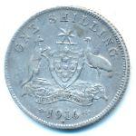Австралия, 1 шиллинг (1916 г.)