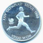 Южная Корея, 10000 вон (1986 г.)