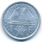 Сен-Пьер и Микелон, 1 франк (1948 г.)