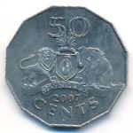 Свазиленд, 50 центов (2007 г.)