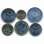 Джибути, Набор монет (2012 г.)