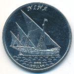 Острова Гилберта, 1 доллар (2016 г.)