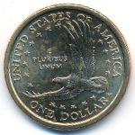 США, 1 доллар (2002 г.)