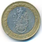 Остров Святой Елены и острова Вознесения, 2 фунта (2003 г.)