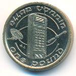 Остров Мэн, 1 фунт (1995 г.)