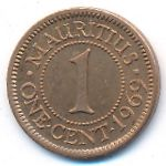Маврикий, 1 цент (1969 г.)