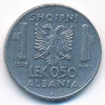 Албания, 0,5 лек (1941 г.)