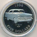 Маршалловы острова, 5 долларов (1998 г.)