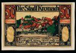 Нотгельды Германии, 50 пфеннигов
