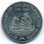 Острова Сент-Кристофер и Невис, 20 долларов (1982 г.)