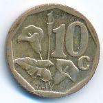 ЮАР, 10 центов (2008 г.)