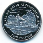 British Antarctic Territory, 2 pounds, 2019
