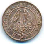 ЮАР, 1/4 пенни (1945 г.)