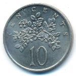 Ямайка, 10 центов (1975 г.)