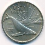 Гавайские острова, 1 доллар (2001 г.)