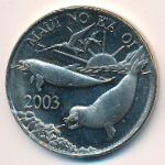 Гавайские острова, 1 доллар (2003 г.)