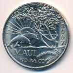 Гавайские острова, 1 доллар (2007 г.)