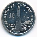 Остров Мэн, 10 пенсов (2004 г.)