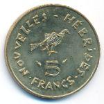 Новые Гебриды, 5 франков (1979 г.)