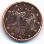 Кипр, 1 евроцент (2009–2018 г.)