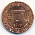 Мальта, 5 евроцентов (2008 г.)
