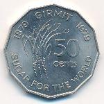 Фиджи, 50 центов (1979 г.)