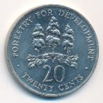 Ямайка, 20 центов (1976 г.)