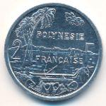 Французская Полинезия, 2 франка (1999 г.)