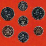 Великобритания, Набор монет (1985 г.)
