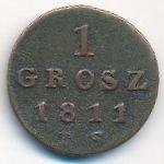 Польша, 1 грош (1811 г.)