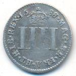 Великобритания, 4 пенса (1688 г.)
