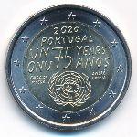Португалия, 2 евро (2020 г.)