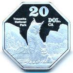 Республика Калифорния, 20 долларов (2020 г.)