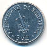 Себорга, 5 чентезимо (1995 г.)
