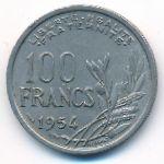 Франция, 100 франков (1954–1958 г.)