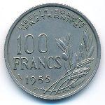 Франция, 100 франков (1955–1958 г.)